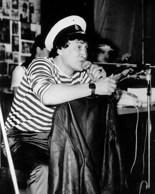 «Лоц-Мэн». С микрофоном Анатолий Полотно. 1988 г.